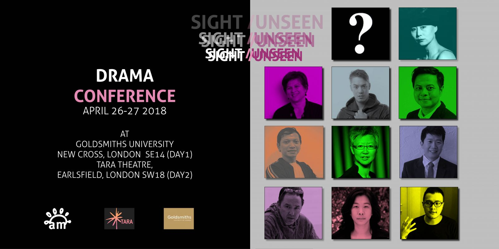 SIGHT/UNSEEN DRAMA CONFERENCE